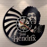 Jimi Hendrix Vinyl Wall Clock