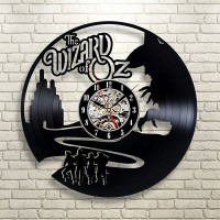 The Wizard Of Oz Vinyl Wall Clock