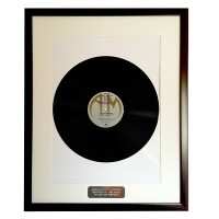 Framed Vinyl Album