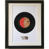 Framed Vinyl Single
