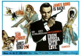 james bond film poster