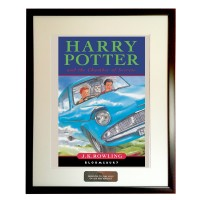 Framed Book Cover Harry Potter