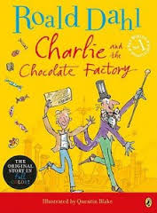 charlie and the chocolate factory book cover