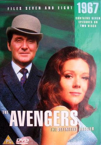 Avengers_TV_Series dvd