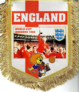 england 1966 world cup winners pendant
