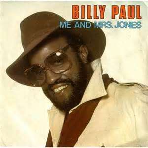 billy paul me & mrs jones vinyl single cover